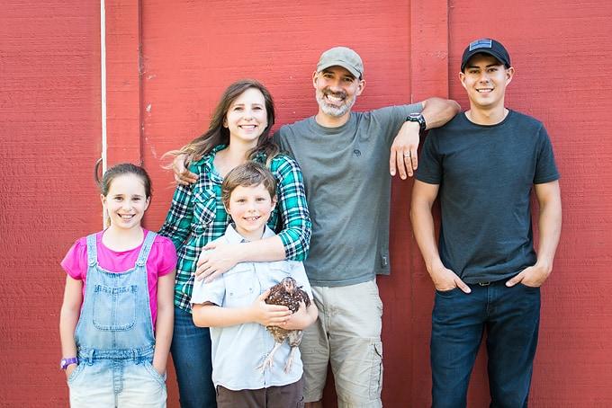 family photo ten acre baker